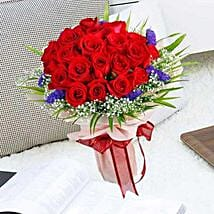 21 Red Rose Bouquet: Mother's Day Gifts to Singapore