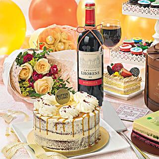 Delectable Red Velvet Cake: Order Cake Singapore