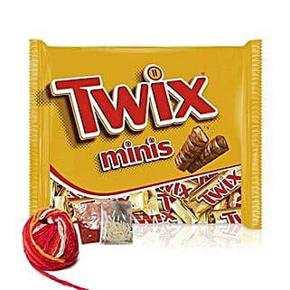 Delicious Twix Minis Bar: Send Chocolates to Singapore