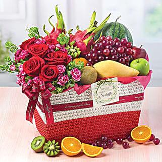 Fruity Paradise: Gift Basket to Singapore