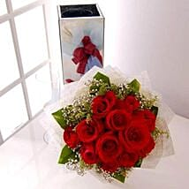 Red Seduction: Valentine's Day Flowers to Singapore
