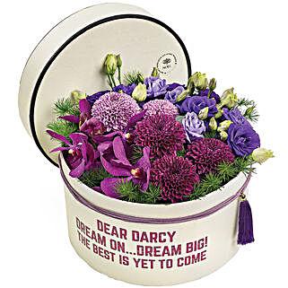 Royal Box Of Love: Birthday Flowers to Singapore