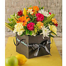 Birthday Flowers in a Box: Anniversary Flowers to South Africa