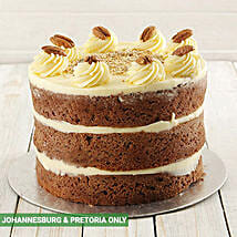 Carrot Naked Cake 20cm: Christmas Cakes to South Africa