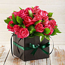 Cerise Roses in a Box: Ramadan Gift Delivery in South Africa