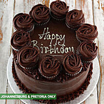Chocolate Party Cake: Send Gifts to South Africa