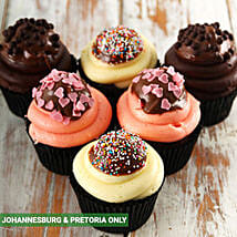 Dipper Cupcake Combo: Birthday Cakes to South Africa