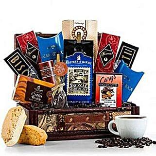 Gourmet Coffee Gift Basket: Send Bhai Dooj Gifts to South Africa