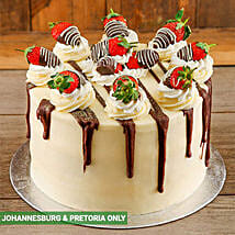 Strawberries and Cream Cake: Christmas Gifts to South Africa