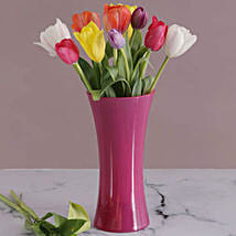 Tulips In Pink Flair: Lilies to South Africa