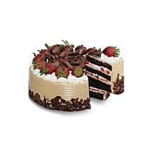 Choco n Strawberry Gateaux: Christmas Cake Delivery in Thailand