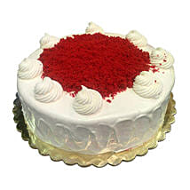 1 Kg Red Velvet Cake: Friendship Day