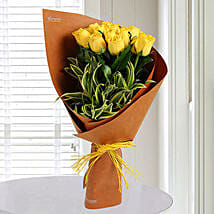 20 Yellow Roses Bunch: Birthday Bouquets for UAE