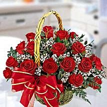30 Red Roses Arrangement: Wedding Gifts to UAE