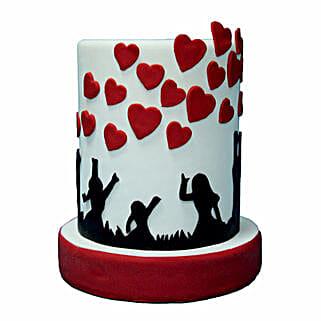 3D Love Cake: Valentine's Day Cake Delivery in Dubai
