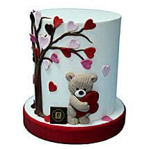 3D Valentine Cake: Valentine's Day Gift Delivery in UAE