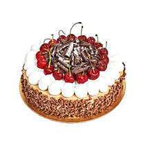 4 Portion Blackforest Cake: Wedding Gifts to UAE