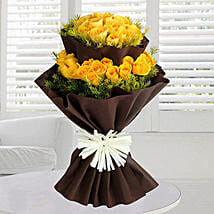 40 Yellow Roses Bunch: Valentine's Day Gift Delivery in UAE