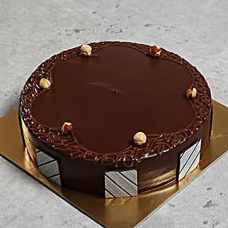 500gm Hazelnut Chocolate Cake: Grandparents Day Gifts to UAE