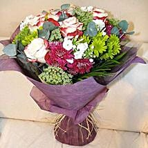 Amalgamation of the Nature: Same Day Bouquet in Abu Dhabi
