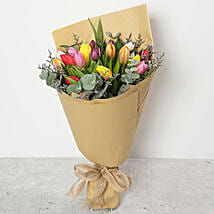 Beautiful Tulips Bouquet: Birthday Bouquets for UAE