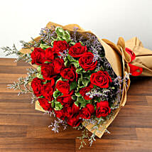Bouquet Of 20 Red Roses: Valentine Flower Bouquets to UAE