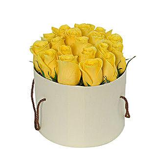 Captivating Yellow Rose Arrangement: Send Birthday Flowers to UAE