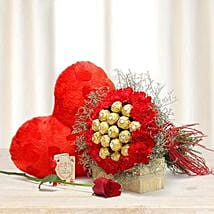 Choco Carnations: Send Flowers & Chocolates to UAE