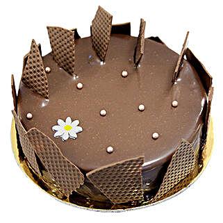 Chocolate Glaze Cake: Valentine's Day Cake Delivery in Dubai