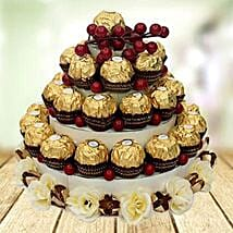 Chocolate Tower: Valentines Day Gifts for Him