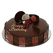 Chocolate Truffle Birthday Cake: Send Cakes to UAE
