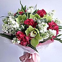 Colors of Love: Send Same Day Flowers to Abu Dhabi