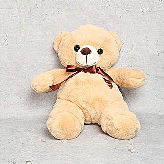 Cuddly Coffee Brown Teddy Bear: Soft Toys to UAE