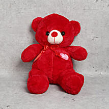 Cuddly Red Teddy Bear: Bhai Dooj Gift Delivery in UAE