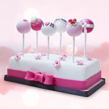 Customised Cake Pops 6 Pcs: Send Mother's Day Gifts to UAE