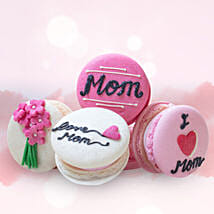 Customized Macaroons 4 Pcs: Mother's Day Gifts to Ajman
