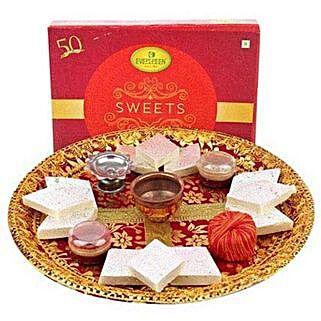 Deepavali Pooja Thali: Diwali Sweets to Abu Dhabi