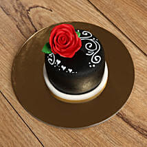 Designer Rose Mono Cake: Birthday Gift Delivery in UAE