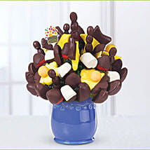 Dipped Fruit Bouquet: Send Birthday Chocolates to UAE