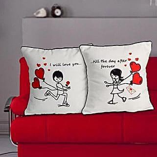 Everlasting Love Cushion: Her