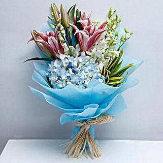 Exclusive Masterpiece: Birthday Flower Bouquets to UAE