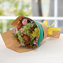 Exotic Flower Bouquet: Carnations to UAE