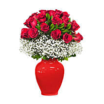 Field of Red Roses: Thank You Flower Delivery in UAE