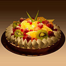 Fruit Tart: Send Birthday Cakes to Abu Dhabi