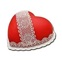 Heart Shaped Full Cake: Valentines Day Gifts for Him