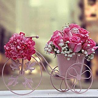 Loved Rainbow Arrangement: Send Anniversary Flowers to UAE