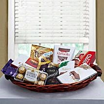 Luxurious Choco Hamper: Valentines Day Gifts for Him