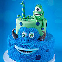 Mike and James From Monsters Cake 6 Kg: