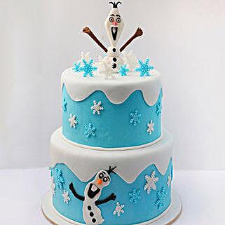 Olaf The Snowman Cake 5 Kg: Designer Cakes in UAE