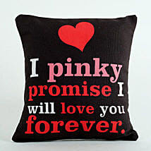 Pinky Promise Cushion: Valentine's Day Gifts to UAE